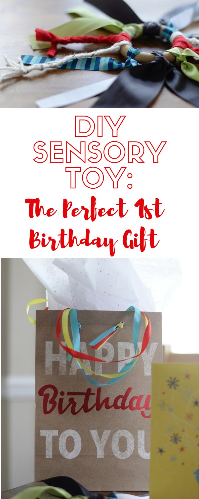 diy sensory toy first birthday gift