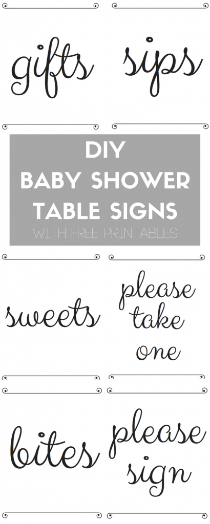 DIY BABY SHOWERTABLE SIGNS(1)