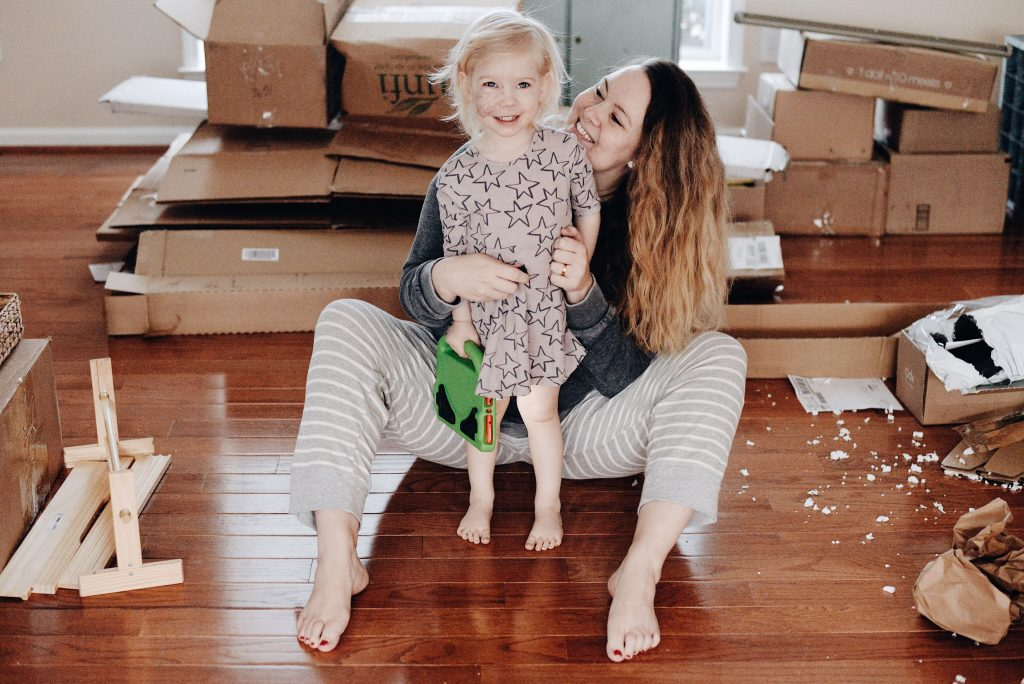 moving across the country with kids