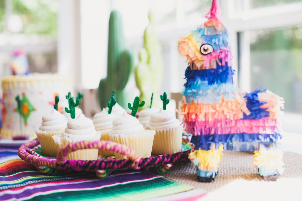 Enjoyable Mexican Fiesta Themed Birthday Party Katie Crenshaw Birthday Cards Printable Benkemecafe Filternl