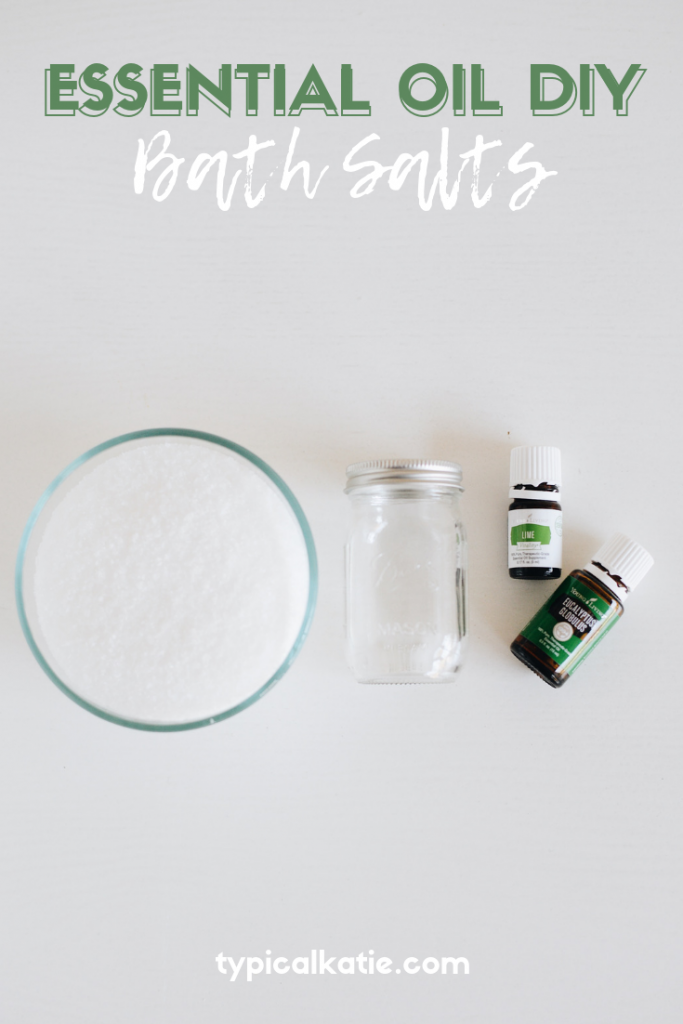 diy essential oil bath salts