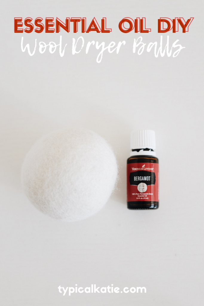 diy scented wool dryer balls
