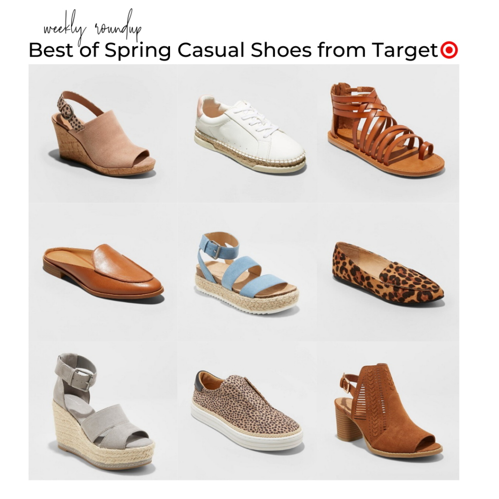target casual shoes